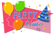 Party Time! Celebrate your birthday with us!
