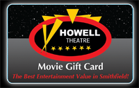 Howell Movie Gift Card