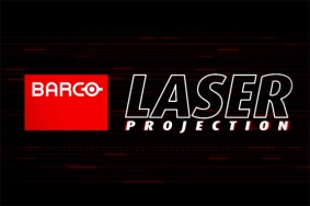 Barco laser projection