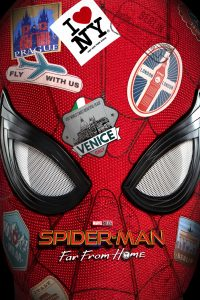 "Poster for the movie ""Spider-Man: Far from Home"""