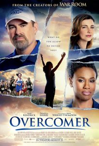 "Poster for the movie ""Overcomer"""